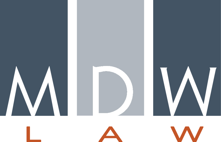 MDW Law logo.